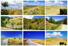 Paesaggi di Zlatibor Fotografie Stock