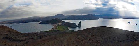 Paesaggi e fauna selvatica di isole Galapagos fotografia stock