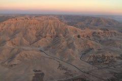 Paesaggi nell'Egitto Immagine Stock