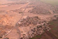 Paesaggi nell'Egitto Fotografia Stock Libera da Diritti