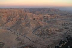 Paesaggi nell'Egitto Fotografie Stock Libere da Diritti