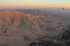 Paesaggi nell'Egitto Fotografia Stock