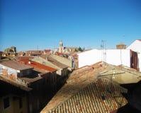 Paesaggi rustici, città immagine stock libera da diritti