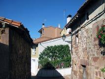 Paesaggi rustici, città fotografie stock