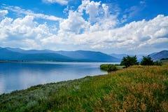 Paesaggi sbalorditivi in tutto Yellowstone Immagini Stock Libere da Diritti