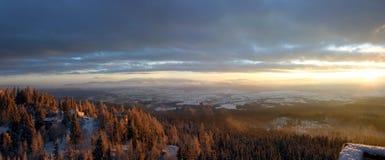 Paesaggi in Slovacchia Immagini Stock Libere da Diritti