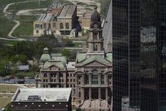 Paesaggi urbani di Fort Worth fotografia stock