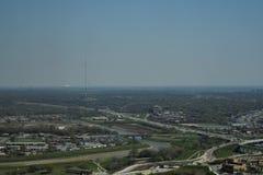 Paesaggi urbani di Fort Worth immagini stock libere da diritti