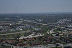 Paesaggi urbani di Fort Worth Immagine Stock