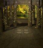 Paesaggio 03 di fantasia Fotografia Stock Libera da Diritti