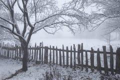 Paesaggio 1 di inverno Fotografia Stock
