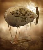 Paesaggio 1 di Steampunk royalty illustrazione gratis