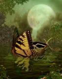 Paesaggio 109 di fantasia royalty illustrazione gratis