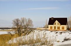 Paesaggio 20 di inverno Immagine Stock