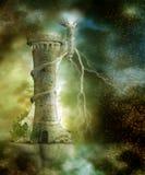 Paesaggio 26 di fantasia Fotografie Stock
