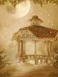 Paesaggio 33 di fantasia illustrazione di stock