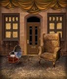 Paesaggio 4 di Steampunk Fotografie Stock