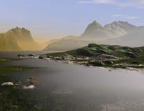 Paesaggio #5 fotografia stock