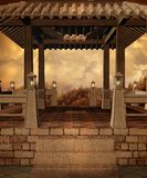 Paesaggio 76 di fantasia Fotografie Stock Libere da Diritti