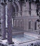 Paesaggio 98 di fantasia illustrazione di stock