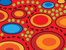Paesaggio aborigeno Fotografia Stock Libera da Diritti