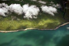 Paesaggio aereo Fotografia Stock Libera da Diritti