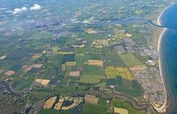 Paesaggio aereo dell'Irlanda immagine stock