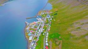 Paesaggio aereo - Islanda Fotografia Stock
