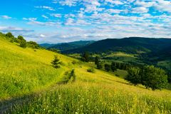 Paesaggio affascinante Immagine Stock