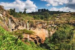 Paesaggio africano Fotografie Stock Libere da Diritti