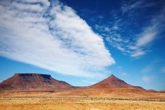 Paesaggio africano Fotografie Stock