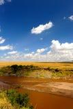 Paesaggio africano della regione selvaggia Fotografia Stock Libera da Diritti