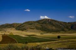 Paesaggio agricolo nella campagna turca Immagine Stock Libera da Diritti