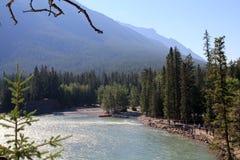 Paesaggio in Alberta Fotografie Stock