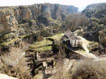 Paesaggio-Alhama de Granada fotografie stock