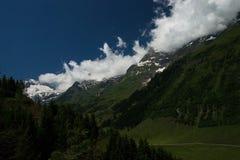 Paesaggio all'alta strada alpina di Grossglockner, Austria Immagine Stock Libera da Diritti