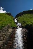 Paesaggio all'alta strada alpina di Grossglockner, Austria Immagine Stock