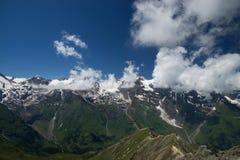 Paesaggio all'alta strada alpina di Grossglockner, Austria Immagini Stock Libere da Diritti