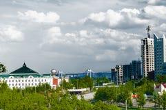 Paesaggio all'interno della città Immagine Stock