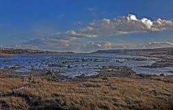 Paesaggio alla baia del Portogallo su Avalon Peninsula in Terranova, Canada Fotografia Stock Libera da Diritti