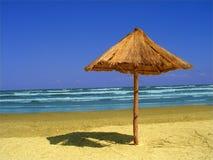 Paesaggio alla spiaggia Fotografia Stock Libera da Diritti