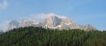 Paesaggio alle alpi di Orobie Area di Valcanale Alpi italiane Immagini Stock Libere da Diritti