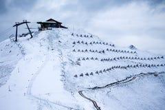 Paesaggio alle dolomia, Italia della montagna Fotografia Stock Libera da Diritti