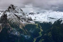 Paesaggio alle dolomia, Italia della montagna Fotografie Stock Libere da Diritti