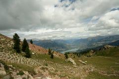 Paesaggio in alpi Immagini Stock