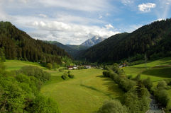 Paesaggio alpino Fotografie Stock