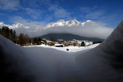 Paesaggio alpino Immagine Stock