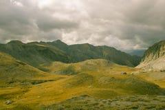 Paesaggio alpino Fotografia Stock Libera da Diritti
