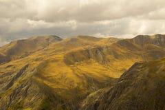 Paesaggio alpino Fotografie Stock Libere da Diritti