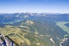 Paesaggio alpino Immagini Stock